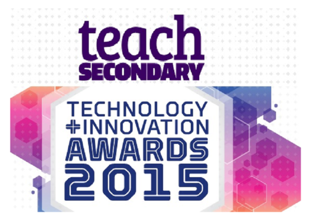 WINNER! Earwig wins Best Resource Award in Teach Secondary Awards 2015