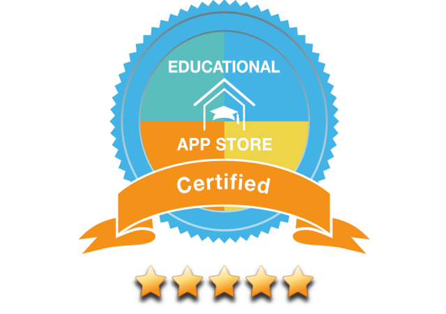 5 star review from Educational App Store