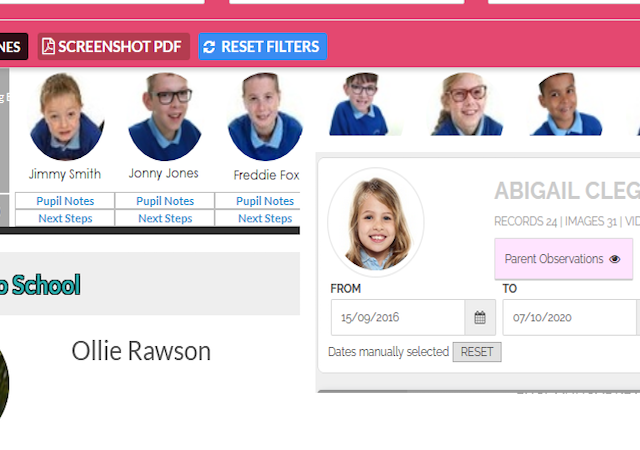 Personalise your pupil reports